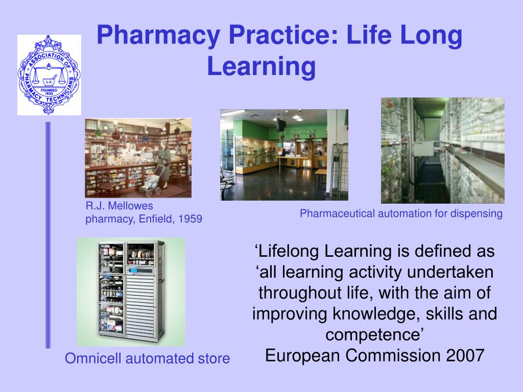 Pharmacy Practice: Life Long Learning