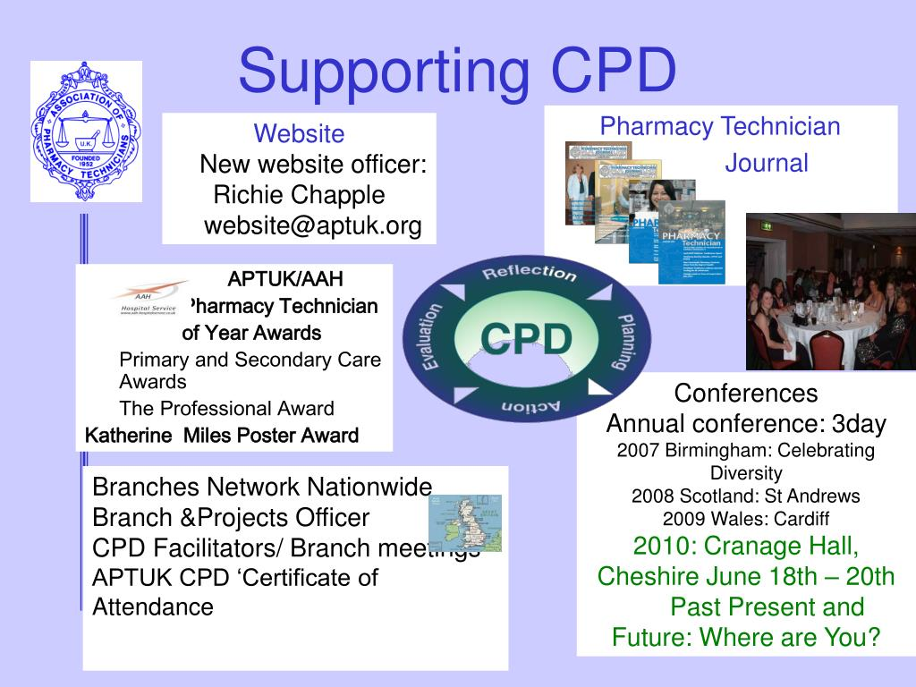 Supporting CPD