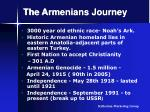 the armenians journey