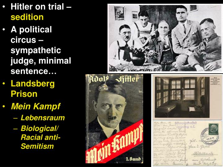 Hitler on trial –