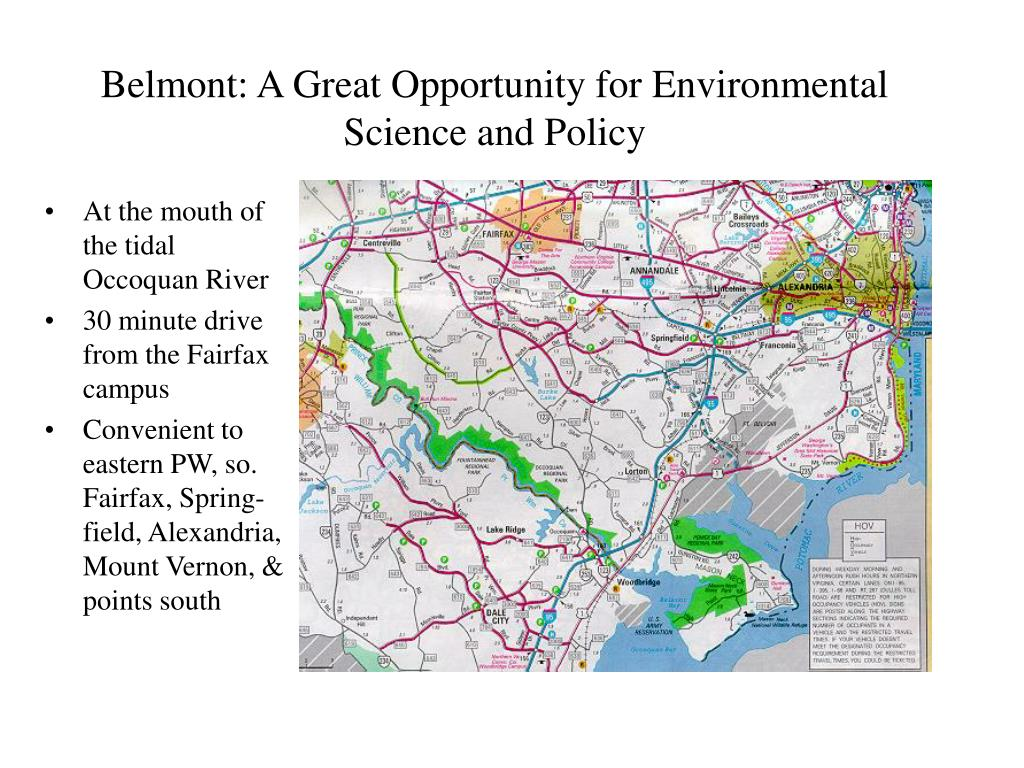 Belmont: A Great Opportunity for Environmental Science and Policy