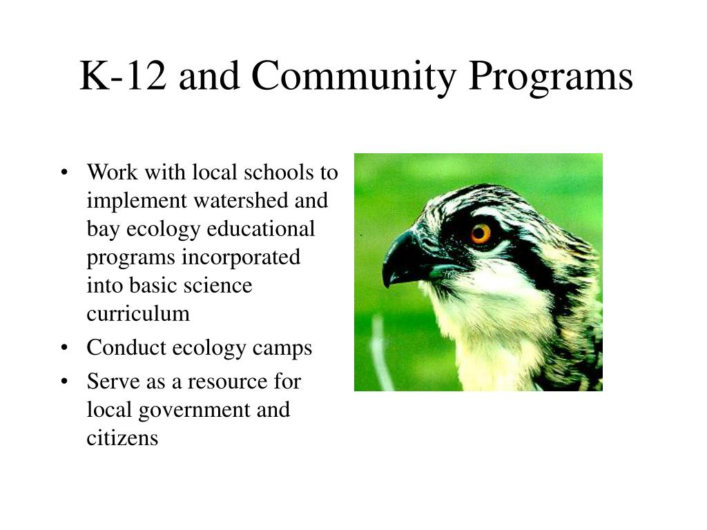 K-12 and Community Programs