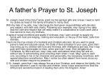 a father s prayer to st joseph
