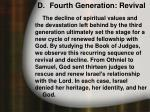 d fourth generation revival