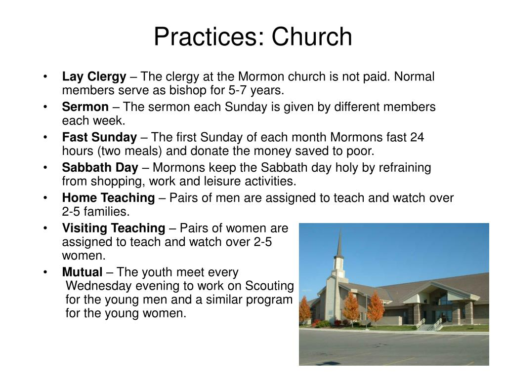Practices: Church