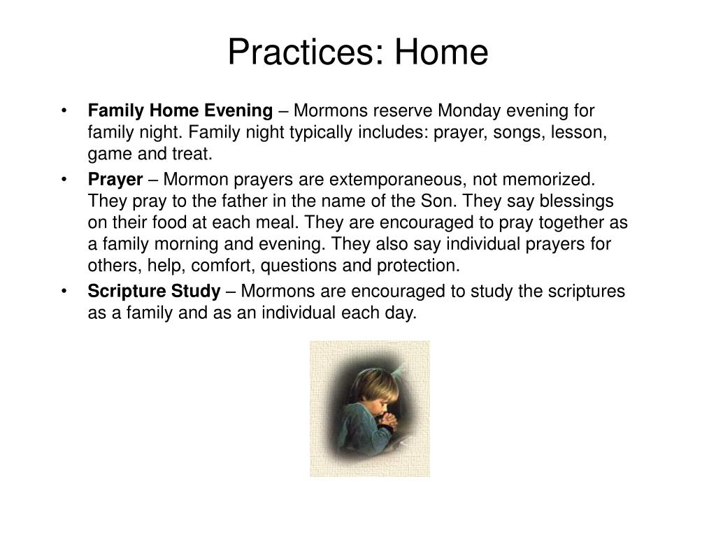 Practices: Home