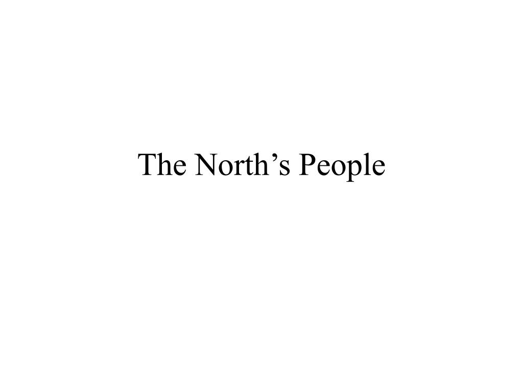 The North's People