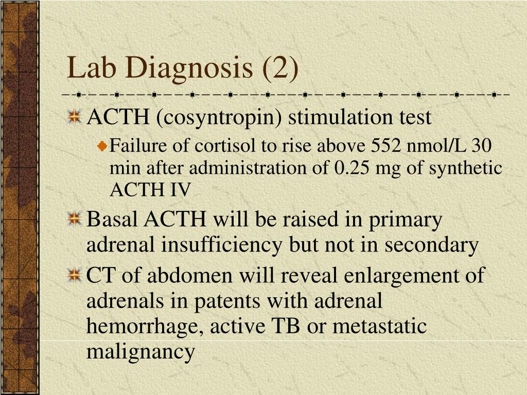 Lab Diagnosis (2)