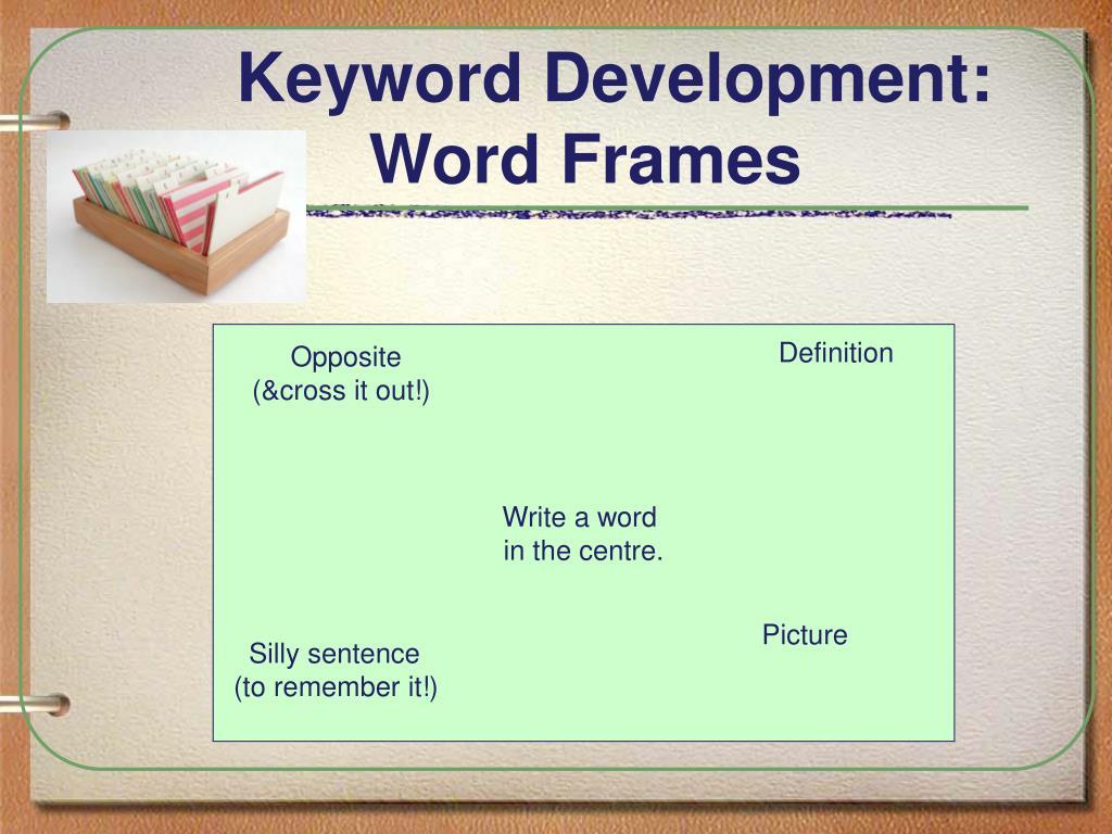 Keyword Development: