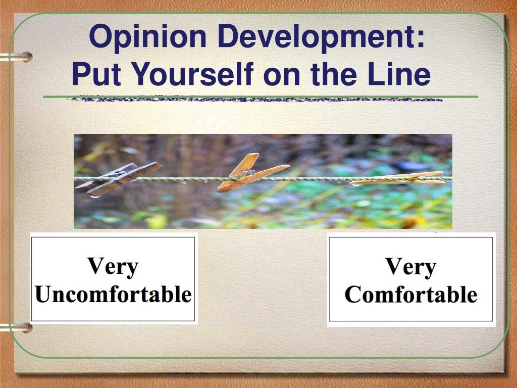 Opinion Development: