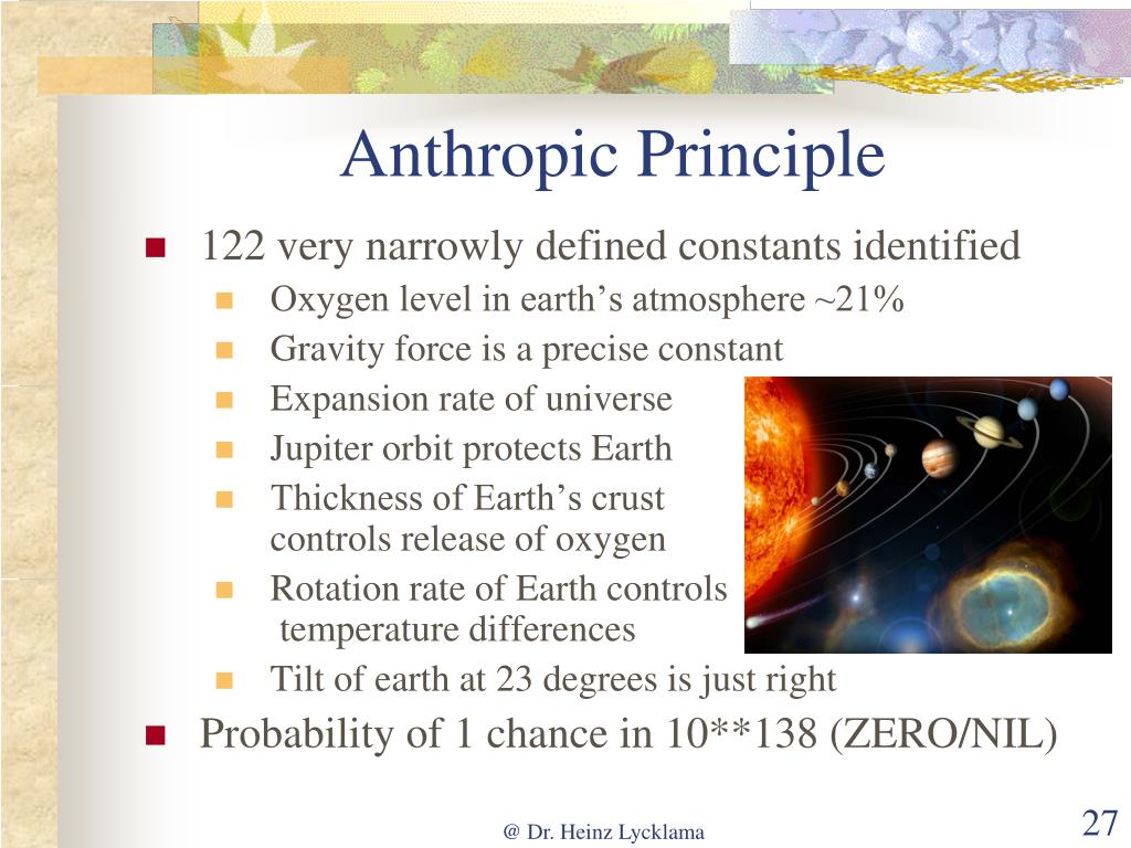 Anthropic Principle