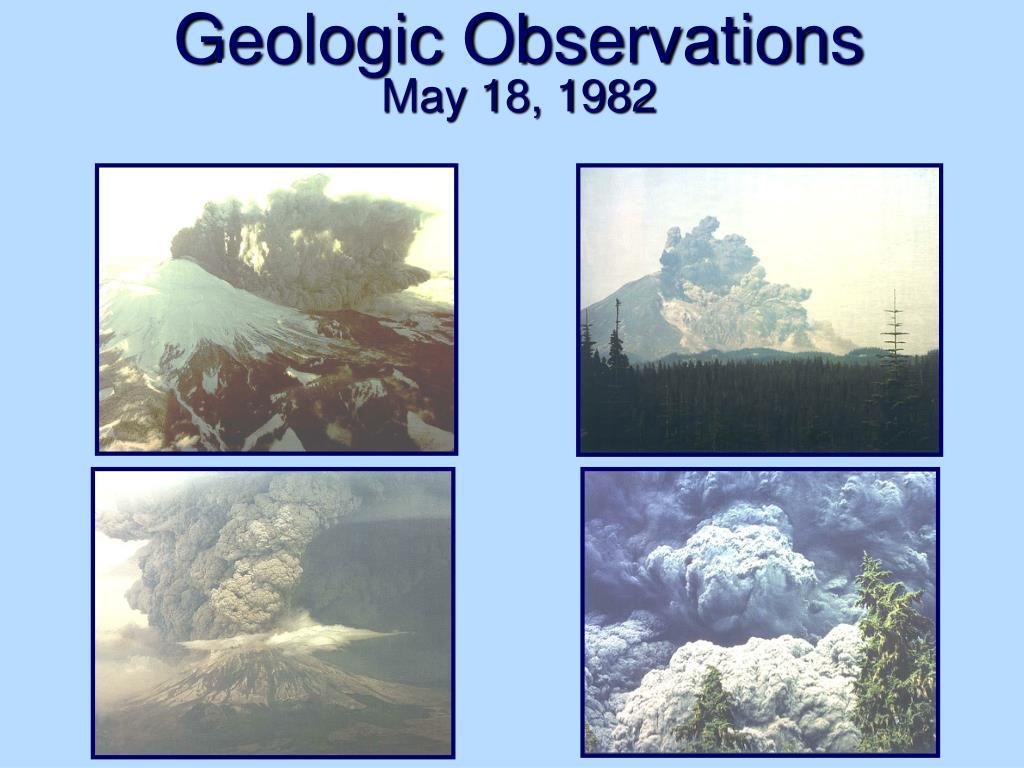 Geologic Observations