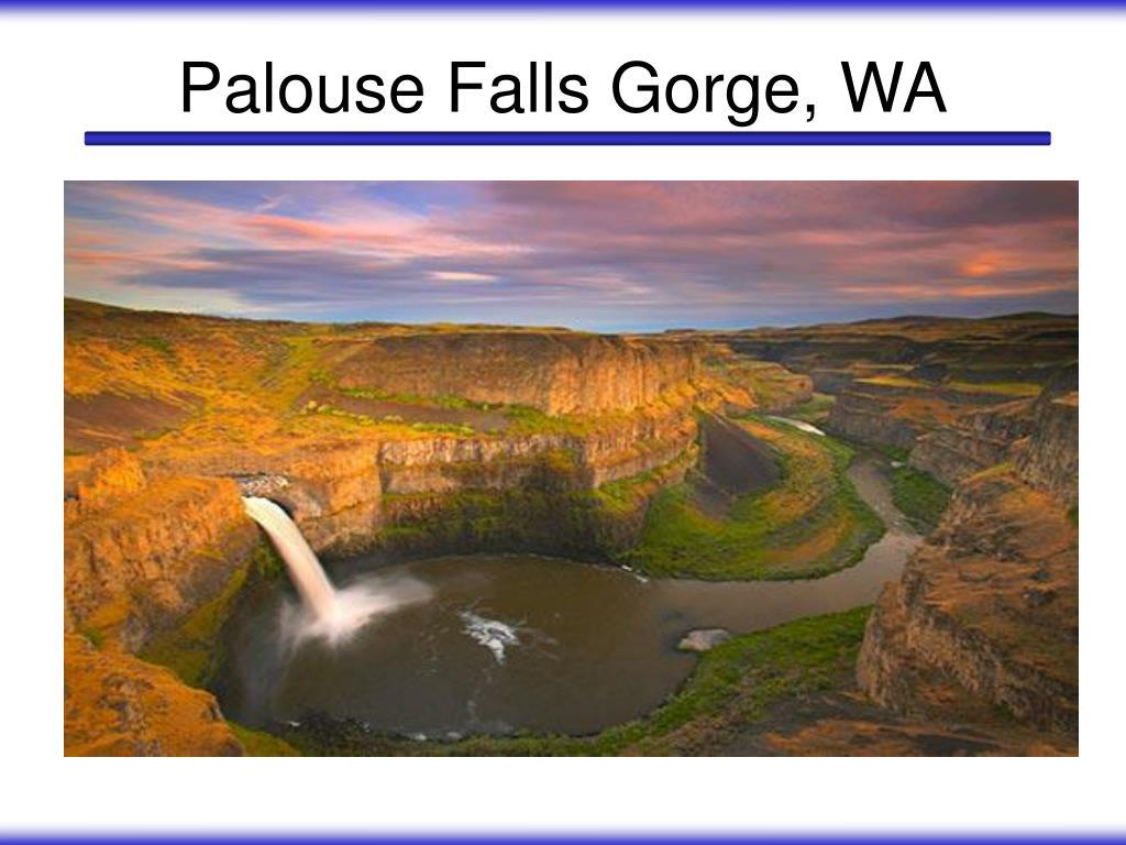 Palouse Falls Gorge, WA