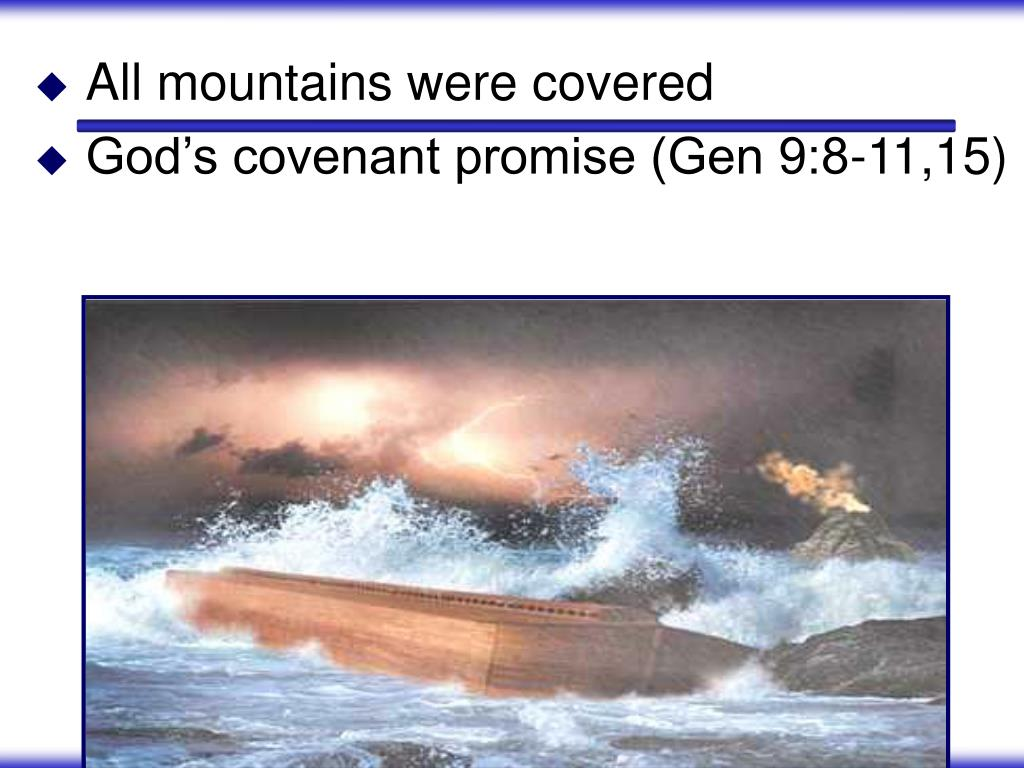 All mountains were covered