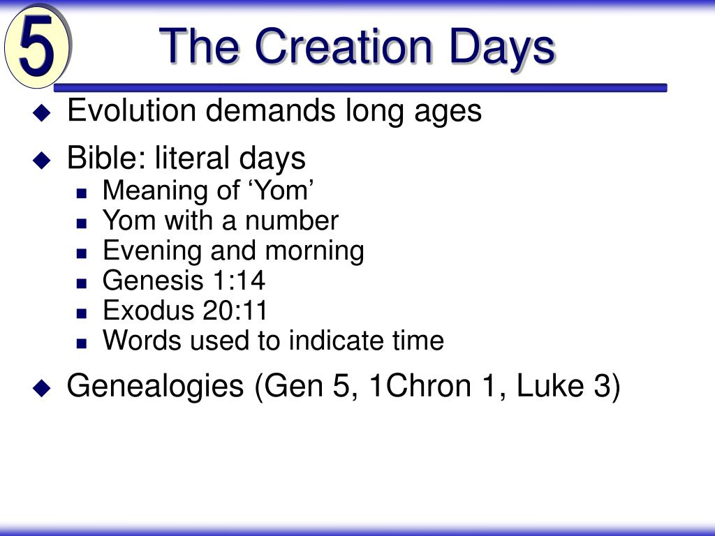 Evolution demands long ages