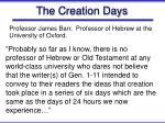 the creation days36