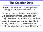 the creation days38
