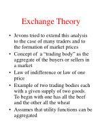 exchange theory17
