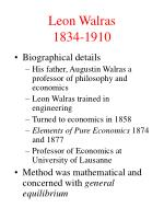 leon walras 1834 1910