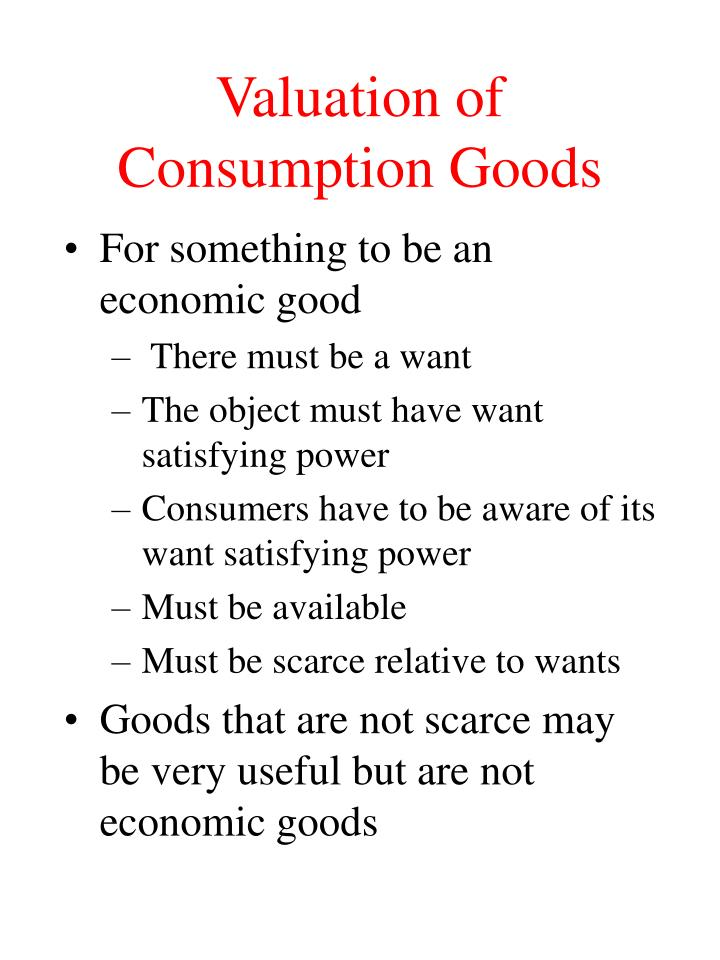 Valuation of consumption goods l.jpg