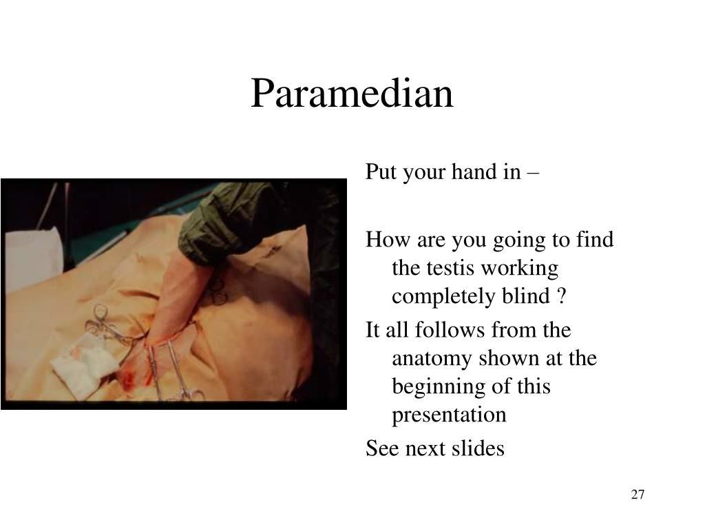 Paramedian