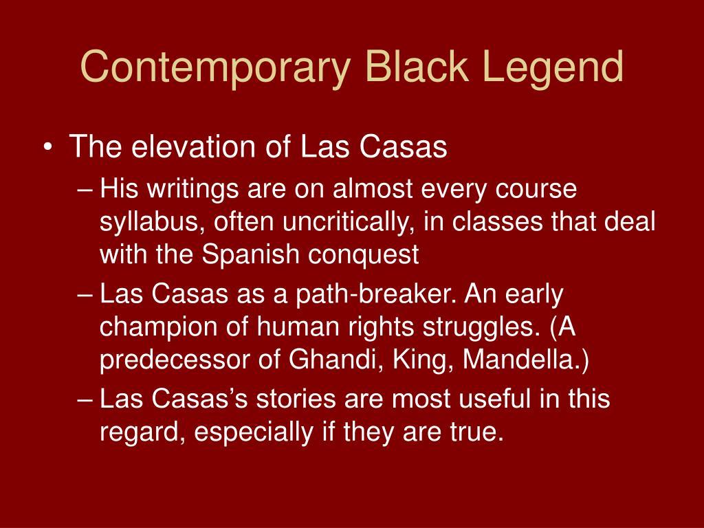 Contemporary Black Legend