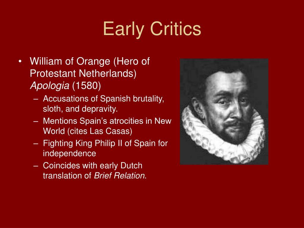 Early Critics