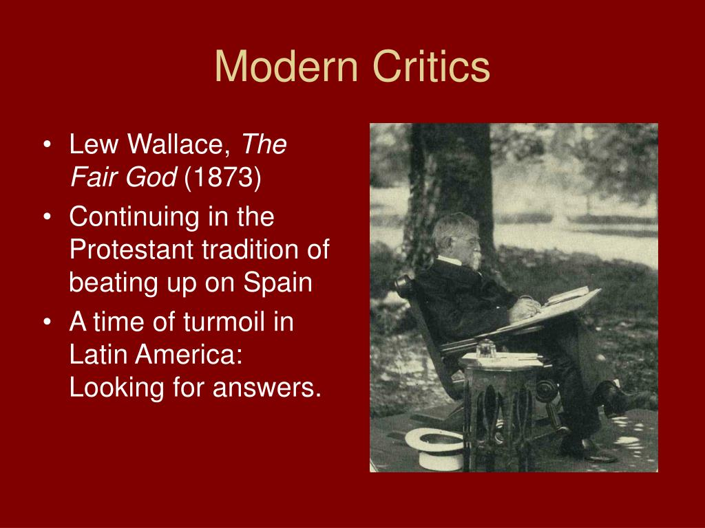 Modern Critics