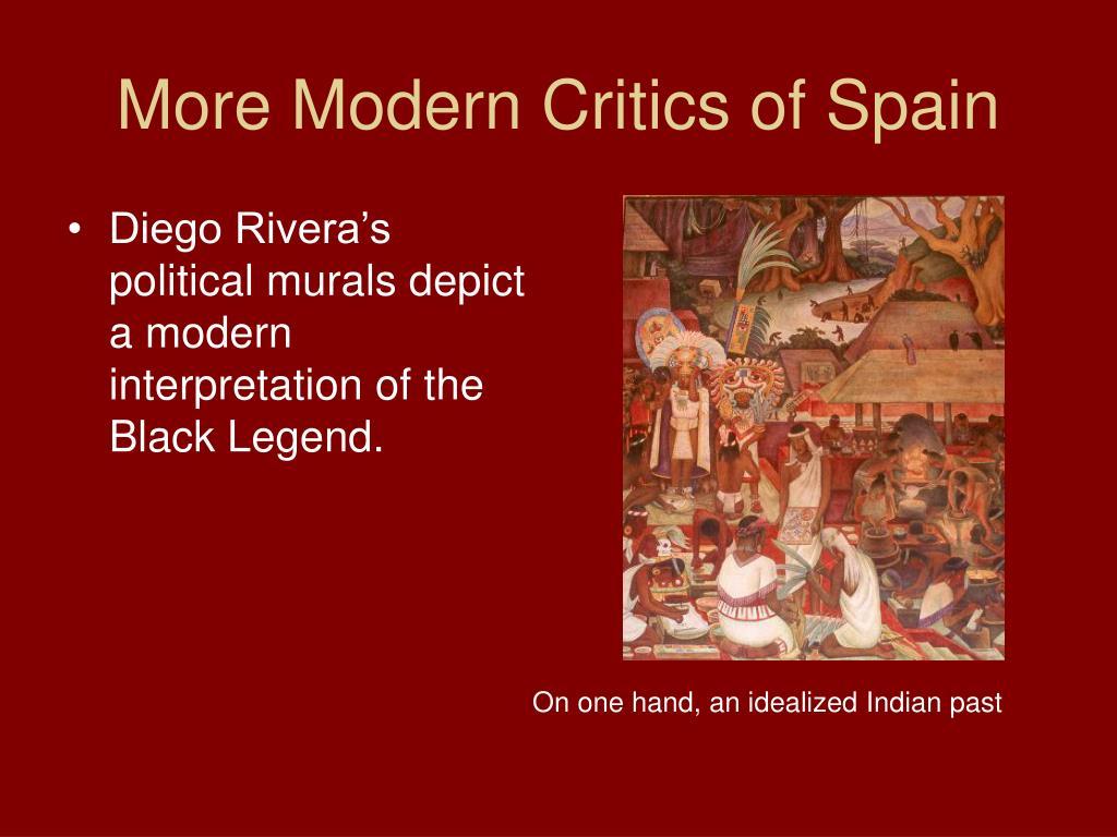 More Modern Critics of Spain