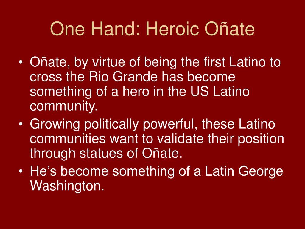 One Hand: Heroic O