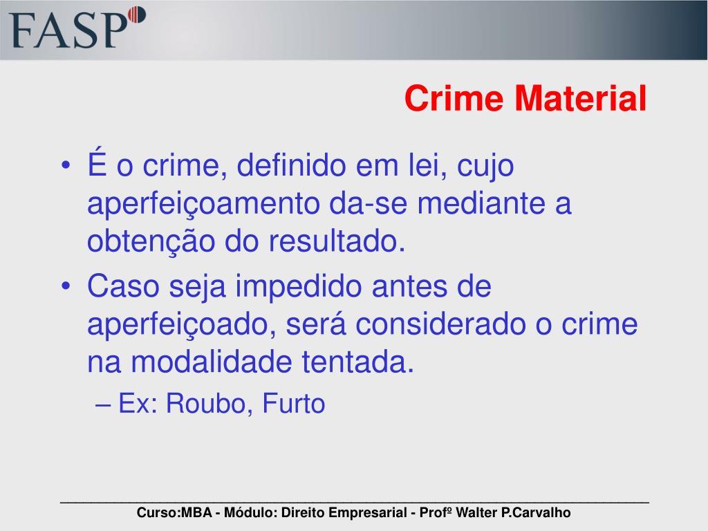 Crime Material