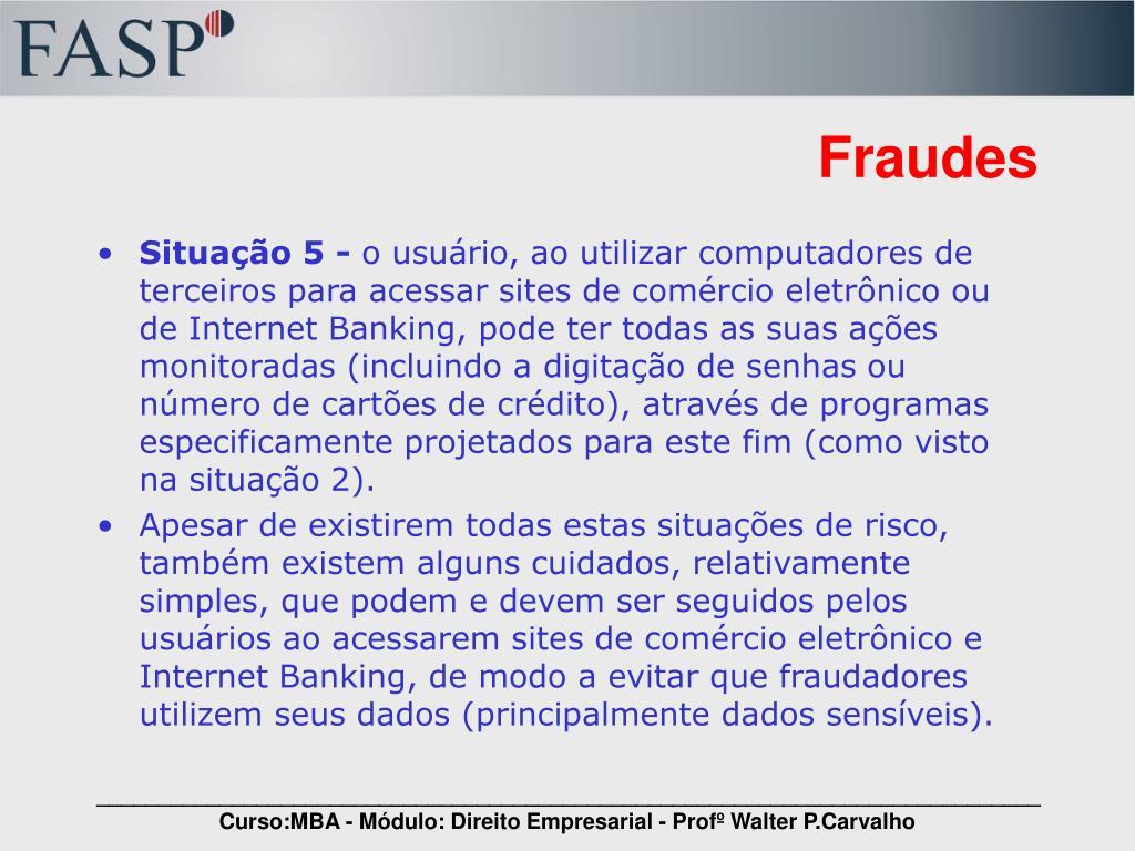Fraudes