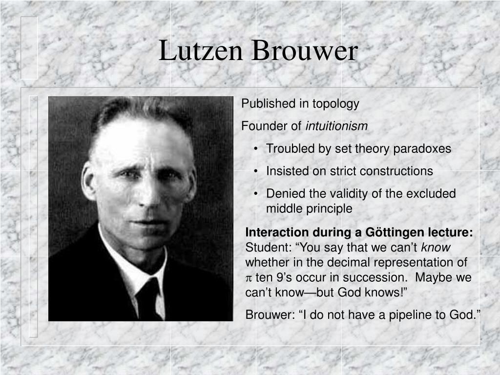 Lutzen Brouwer