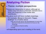 analyzing fiction15