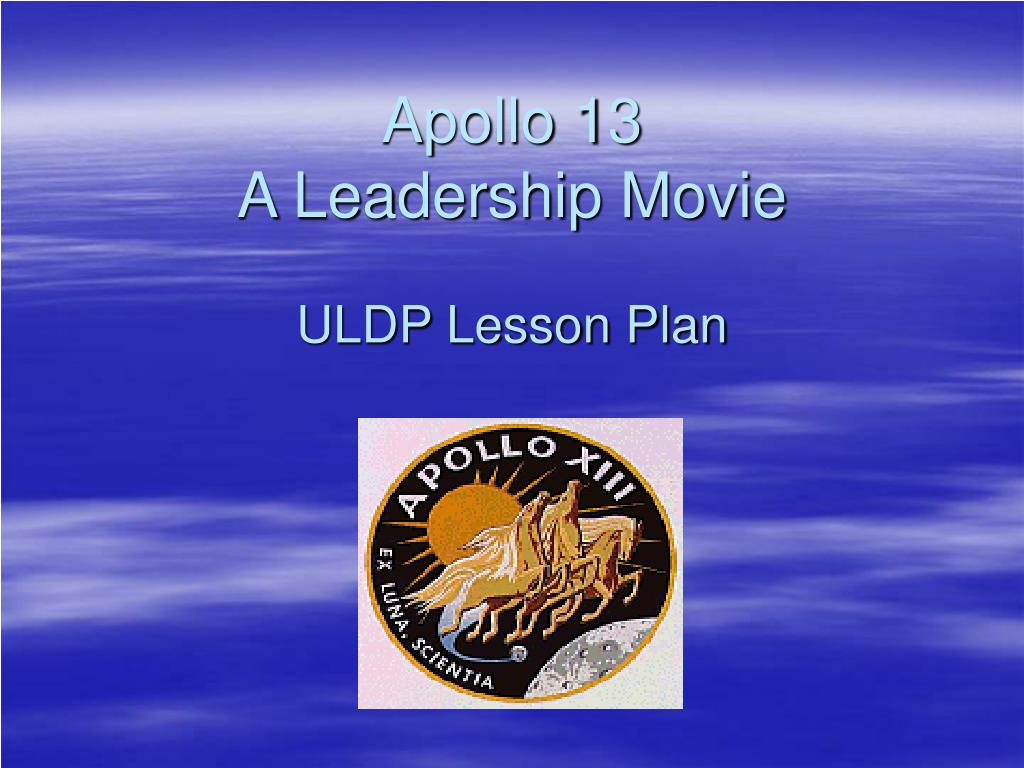 leadership in apollo 13 Get access to apollo 13 leadership essays only from anti essays listed results 1 - 30 get studying today and get the grades you want only at.