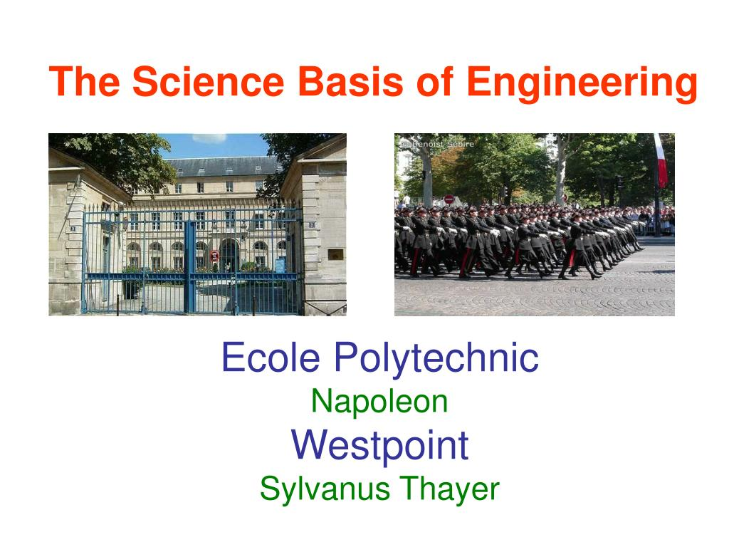 The Science Basis of Engineering