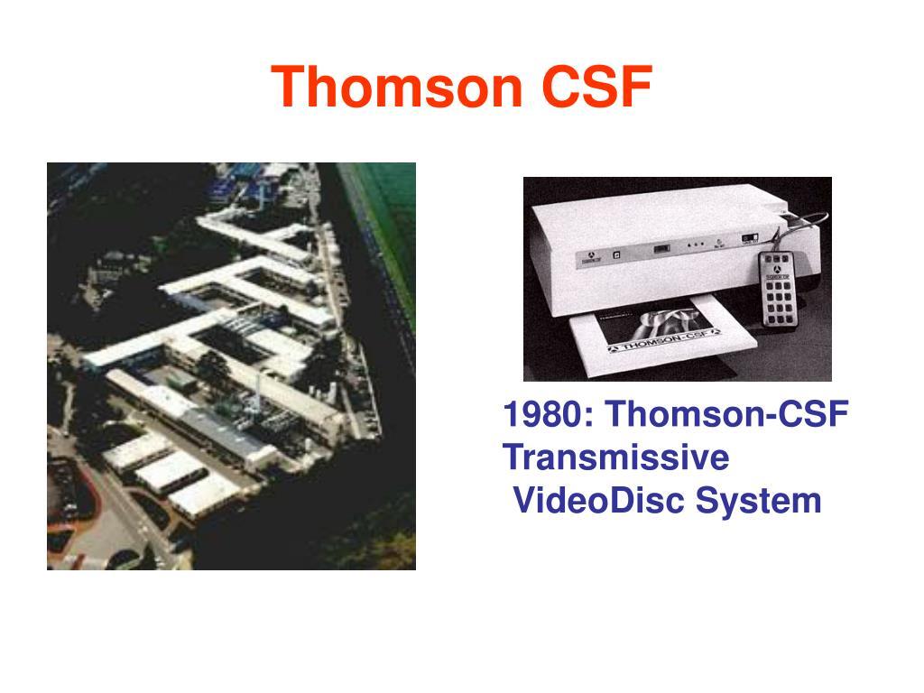 Thomson CSF