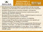 repositioning lg municipal hr as a strategic function6