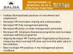 repositioning lg municipal hr as a strategic function7