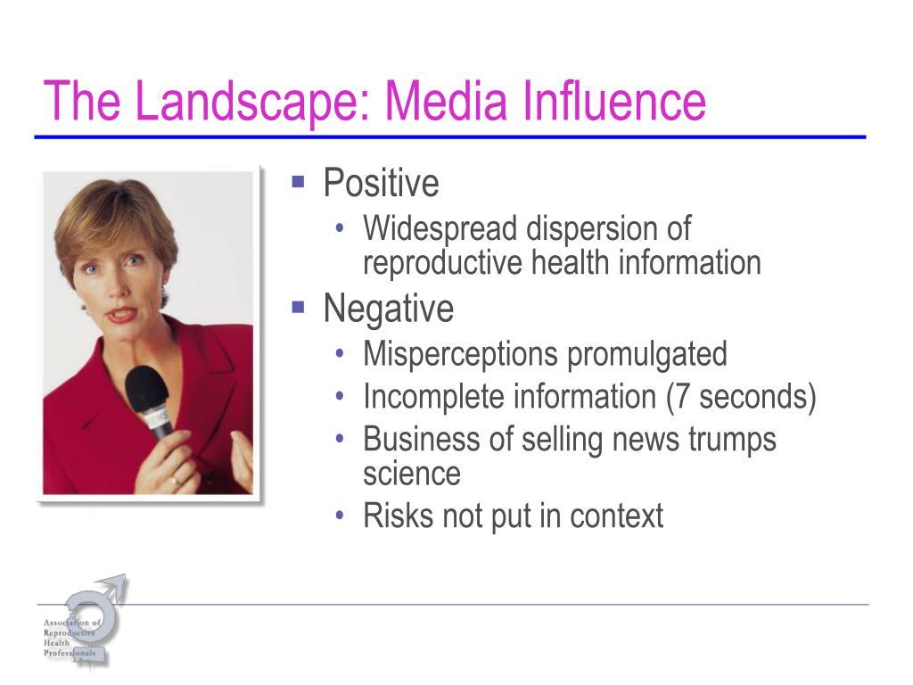 The Landscape: Media Influence