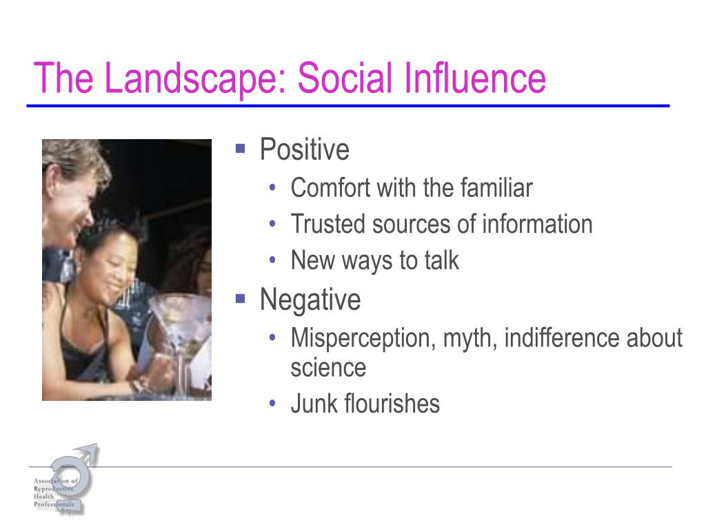 The Landscape: Social Influence