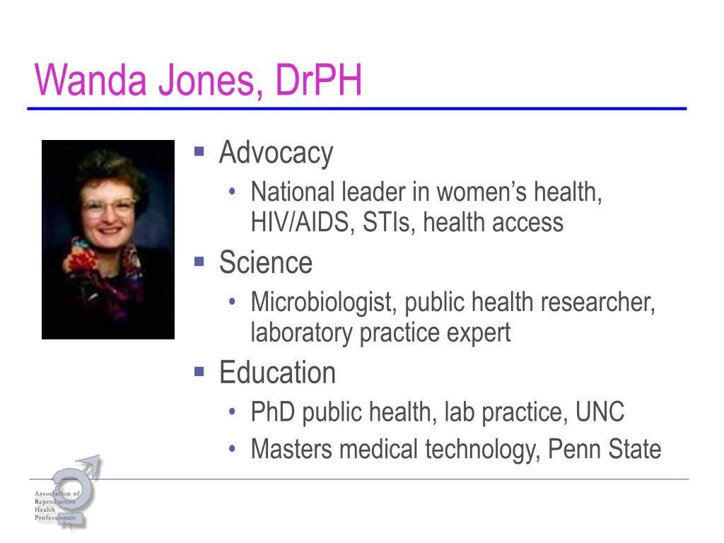 Wanda Jones, DrPH
