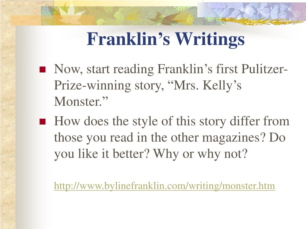 Franklin's Writings