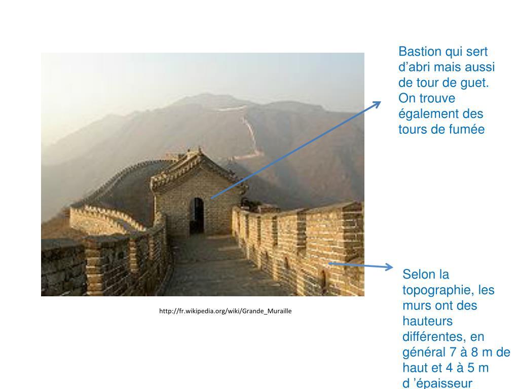 Bastion qui sert d'abri mais aussi de tour de guet. On trouve également des tours de fumée
