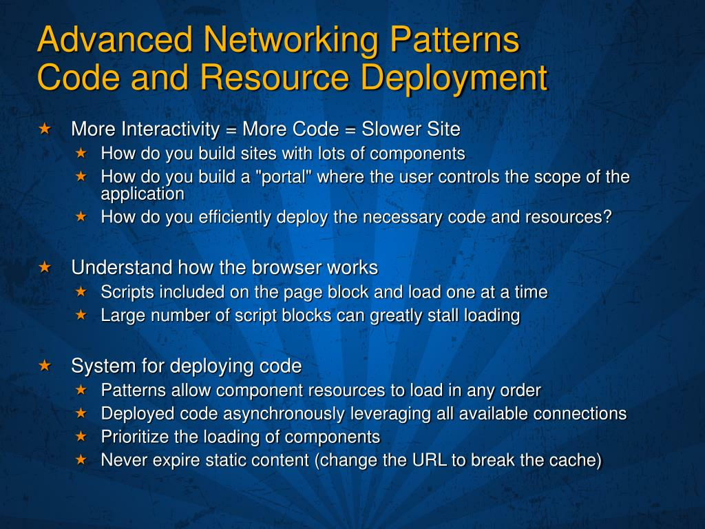 Advanced Networking Patterns