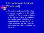 the johannine epistles continued5