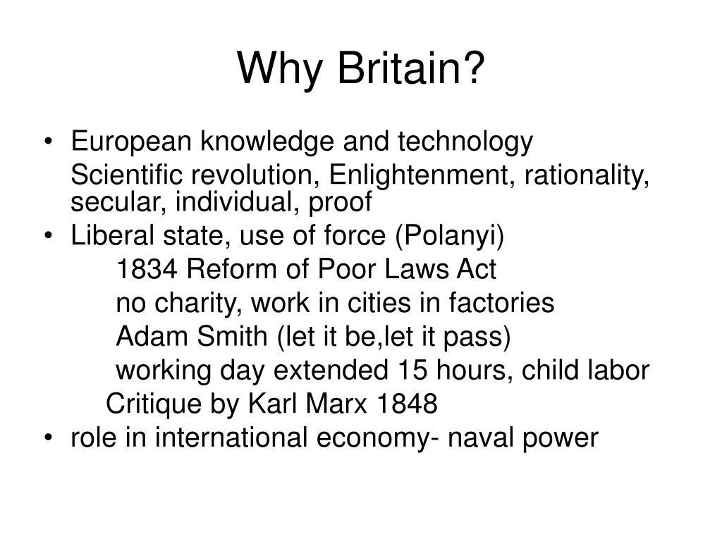 Why Britain?