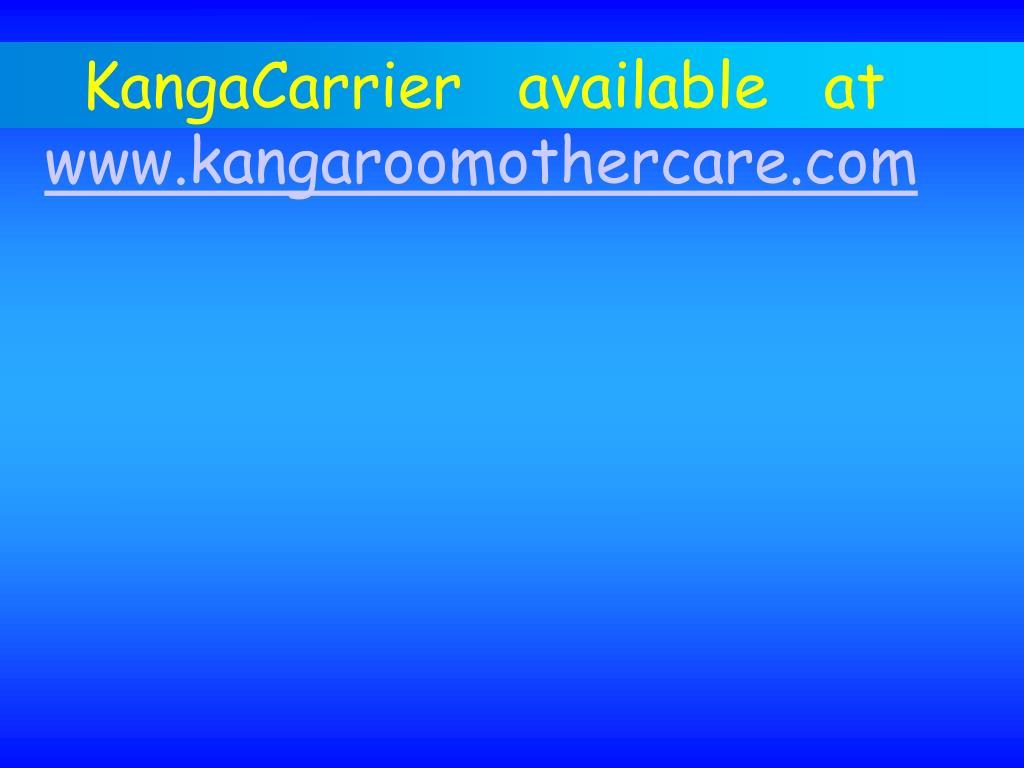 KangaCarrier   available   at