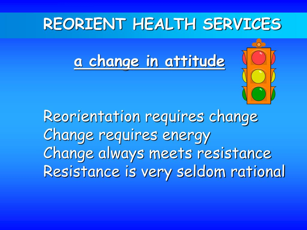 REORIENT HEALTH SERVICES
