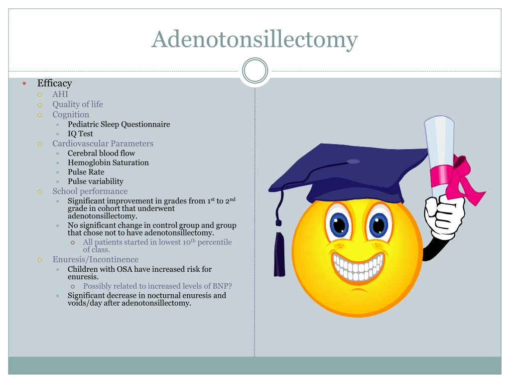 Adenotonsillectomy